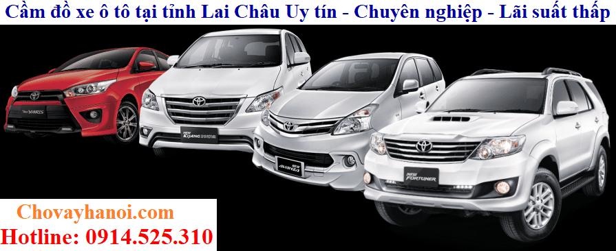 Cầm đồ xe ô tô tại tỉnh Lai Châu Uy tín - Chuyên nghiệp - Lãi suất thấp