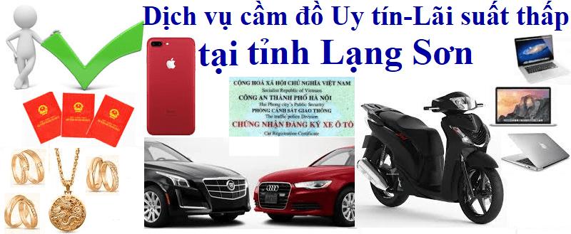 Cầm đồ xe ô tô tại Lạng Sơn Uy tín - Lãi suất thấp nhất
